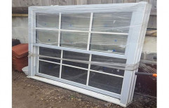 White UPVC Glass French Window, Thickness Of Glass: 8- 10 mm, for Residential