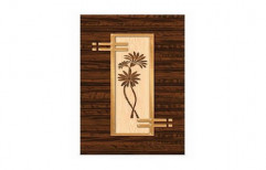 Wood Decorative Wooden Door, Thickness: 32 Mm