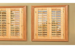 Wooden Full Height Window Shutters, Thickness: 5-16 Mm