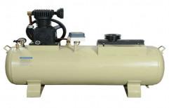 0.5 HP HIMAX Air Compressor Machine, Air Tank Capacity: 75 Ltr To 300 Ltr