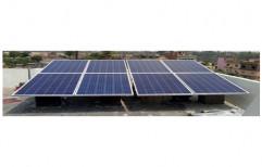 10 kW On Grid Solar Power System, Operating Voltage: 24 V