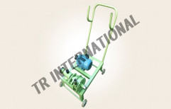 14 Meter Stainless Steel Pump With Trolley, Size: 25 X 25 Mm, Max Flow Rate: 112 Lpm