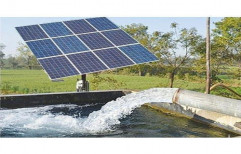 1hp Single Phase Patanjali Solar Water Pump for Agriculture, Pump Head: 20 M