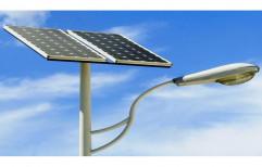 24 W Aluminum Alloy LED Solar Street Lamp, IP Rating: 66