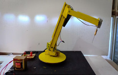 6 AXIS MOTORISED DRILLING ROBOTIC ARM, DC MOTRE