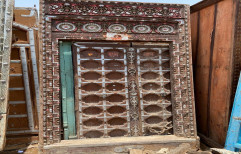 Architectural Carved Antique Door, For Hotel