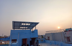 Battery Solar Off Grid Power System, For Commercial, Capacity: 1 kw to 200 kw