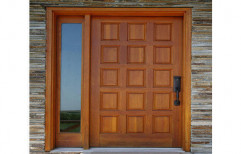 Brown Sagwan Wooden Door, Size: 78 x 32 inch