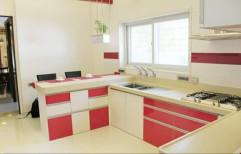 Classic U Shape Modular Kitchen