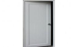 Color Coated Designer UPVC Door, Thickness: 5-6mm
