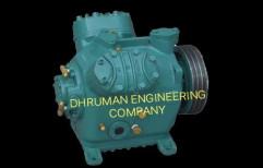 Electric DC Sabroe Bitzer Industrial Compressor