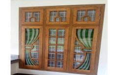 Exterior Wooden Window Shutter