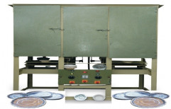 Fully Automatic Paper Dona and Thali Making Machine, Power: 11 kW