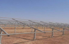 Galvanized Iron SOLAR PANEL MOUNTING STRUCTURE