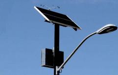 Galvanized Iron Solar Street Light Pole