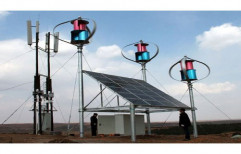 Grid Tie Hybrid Wind Solar System for Commercial, Capacity: 1-10 kW
