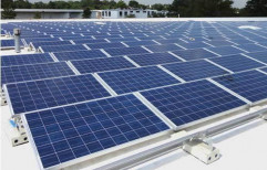 Grid Tie Rectangular Roof Top Solar Power Plant, For Commercial