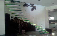 Home Mild Steel Staircase