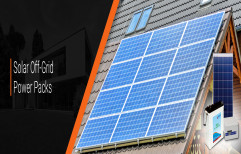 Jakson Off-Grid Solar Power Packs, For Residential, Capacity: 850 WattP - 50 kWattP