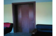 Kassa Brown WPC Door