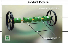 KSNM Wheel Mannual Paddy Transplanters, For Agriculture & Farming