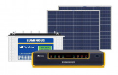 Luminous 1 kVA Off Grid Solar System With 320 Watts Of Panel For Mid Sized Home, Shops