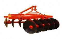 Mild Steel 10 Disc Harrow, For Agriculture, Disc Diameter (mm): 200mm