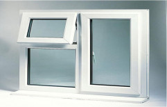 Modern White Aluminium Casement Window