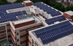 Mounting Structure Grid Tie Commercial Solar Rooftop System, Capacity: 5Kw - 250KW