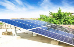 Mounting Structure Grid Tie Solar Power System For Home & Institutions, For Residential, Capacity: 10 Kw