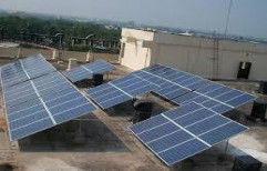 Mounting Structure Grid Tie Solar Rooftop, For Residential, Capacity: 10 Kw