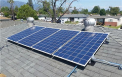 Mounting Structure Solar PV System, Capacity: 3 - 10 Kw
