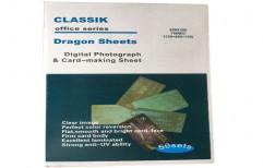 Plain Inkjet PVC Sheet