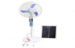 Plastic/Fibre Solar Pedestal Fan