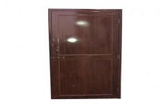 Polished Brown Office PVC Door