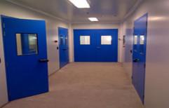 Powder Coated Galvanized Steel Door / Flush Door, Thickness: 50 mm / 80 mm