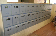 Powder Coated Letter Box, For Office