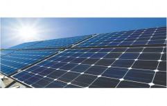 Rectangular Solar Rooftop Power Plant