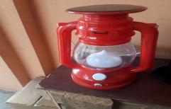 Red Plastic Solar Lantern