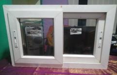 Saint Gobain Plain Aluminum Glass Door, Thickness: 1.5mm