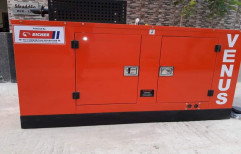 Silent or Soundproof 10 To 160 Kva Silent Diesel Generator, Model Name/Number: Escorts And Volvo Eicher, for Industrial