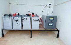 Solar Powered Battery Based System