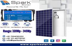 SS 72 Cells Polycrystalline Spark Solar PV Panels Rapid Series
