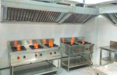 SS Stainless Steel Kitchen Chimney, For Hotel