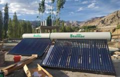 Stainless Steel ETC Solar Water Heaters, Capacity: 100 lpd