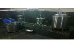 Stainless Steel Semi Automatic Soya Milk Making Machines, 2 kW