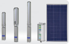 Submersible 5 HP DC Solar Pump, For Agriculture, Model Name/Number: WSDCSUB5HP