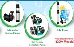 Submersible Borewell Pump, Mono Block Pumps, Open Well Pumps, Diesel Water Pumps