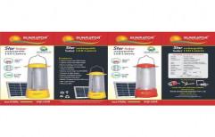 Sunrator 3W Solar LED Lantern, For Indoor