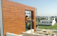 Texture Or Smooth 42 Color Available Exterior Hpl Cladding, Thickness: 6mm 8mm 12mm